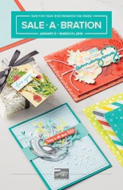 2018 Stampin' Up! Sale-a-bration brochure
