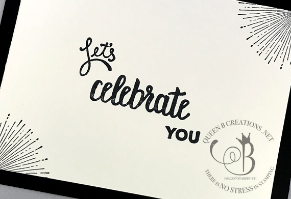 Stampin' Up! Celebrate You Amazing You Springtime Foil by Lisa Ann Bernard of Queen B Creations