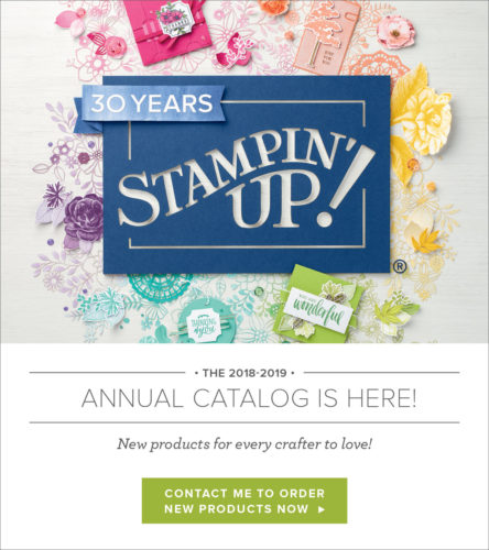 2018-2019 Stampin' Up! Annual Catalog is HERE!!