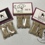 bag toppers over milk bone dog bones by Lisa Ann Bernard of Queen B Creations for A Box of Barks