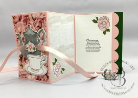 Tea Together Z-fold Card