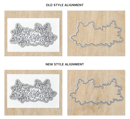 Stampin' Up! new style cutting dies verses the old style