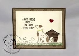 Happy Tails Sympathy Card