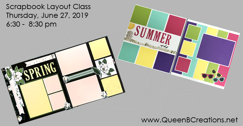 Stampin' Up! Scrapbook Layout Class