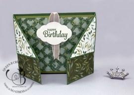 Garden Lane Fun Fold Birthday Card