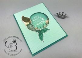 Magical Mermaid Shaker Card