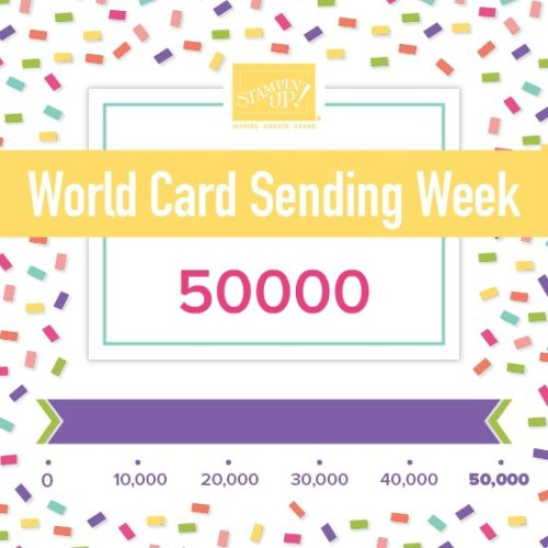 World Card Sending Week Goal Met