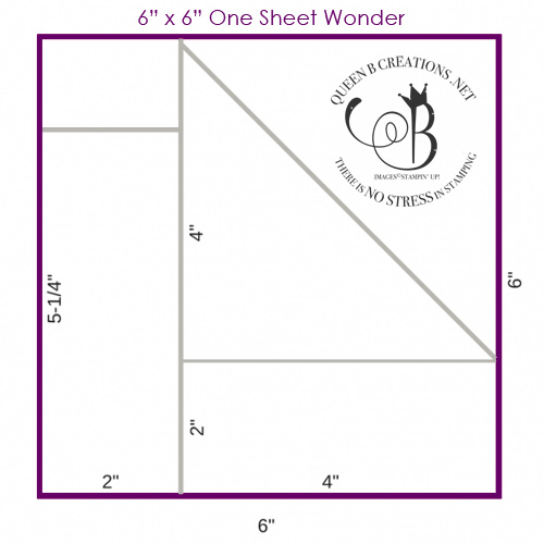 "6"" x 6"" One Sheet Wonder Template"
