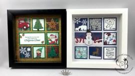 Christmas Themed Framed Samplers