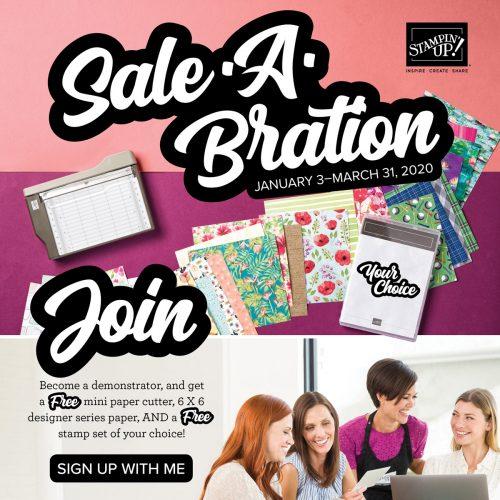 Sale-a-Bration 2020 join bonus