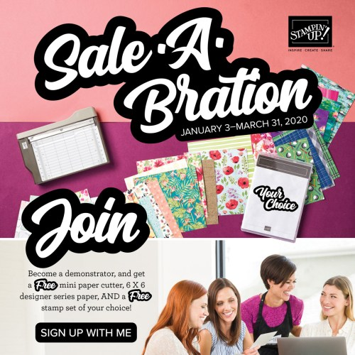 Sale-a-Bration 2020 join bonus