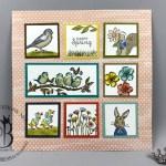 stampin up free as a bird fable friends framed sampler by Lisa Ann Bernard of Queen B Creations