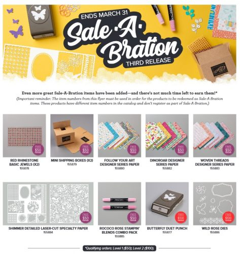 Sale-A-Bration 2020 3rd release