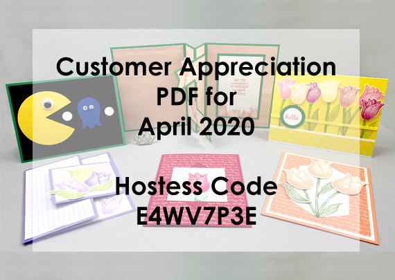 April 2020 Customer Appreciation PDF - Timeless Tulips bundle