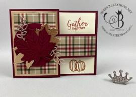 Gather Together Buckle Fold Card