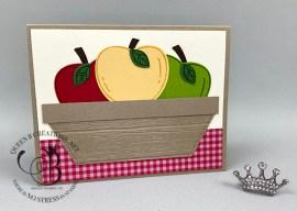 Harvest Hellos Basket of Apples