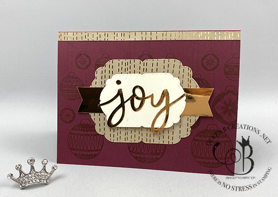 Stampin' Up! Spread The Joy Paper Pumpkin Alternative Oct 2020 by Lisa Ann Bernard of Queen B Creations