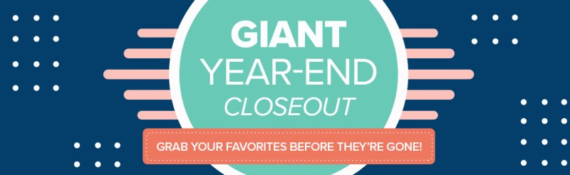 Stampin' Up! Giant Year End Closeout Sale (up to 50% off!) and clearance rack update