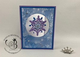 Snowflake Wishes Spinner Card