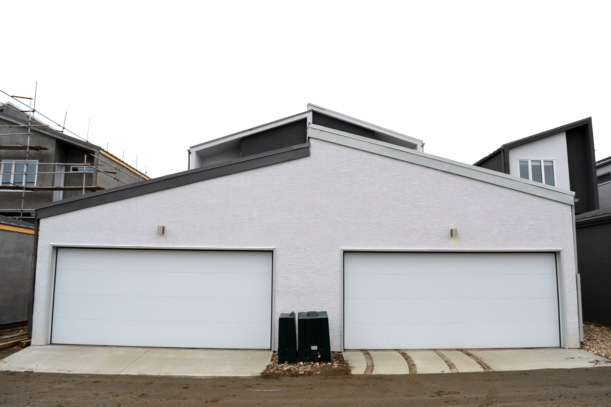 Residential garage doors queen city overhead door for 16x7 garage door with windows