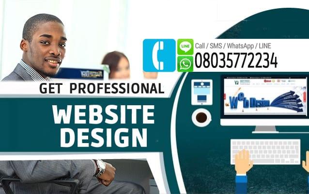 get professional website 3