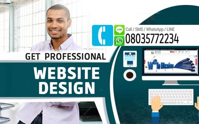 get professional website 4