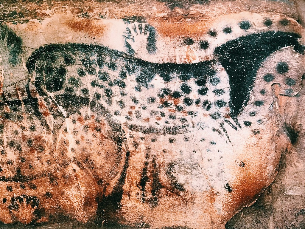 Painting from 29,000 years ago at Pech-Merle