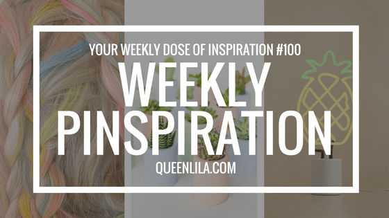 Weekly Pinspiration No.100 | Pastels | Queen Lila