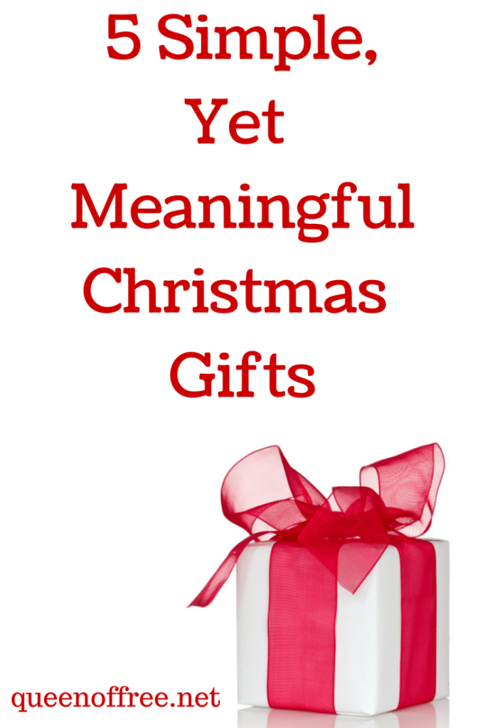 Simple Christmas Gift Ideas Queen Of Free
