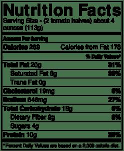 Gluten Free Tomatoes Provencal