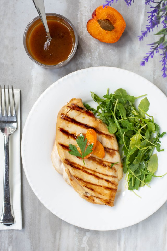 Apricot Orange Marinade - Ingredients sweet, tart, savory, and salty comprise this easy marinade that turns bland poultry and pork into succulent, flavorful meat. | QueenofMyKitchen.com | #marinade #marinades #chickenmarinade #poultrymarinade #porkmarinade #chickenmarinades #poultrymarinades #porkmarinades #apricot #apricots