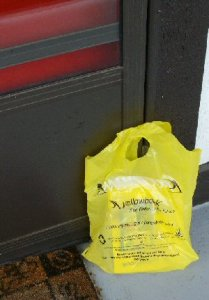 Phone book delivery