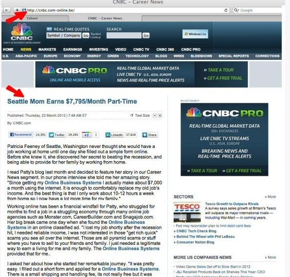 CNBC scam