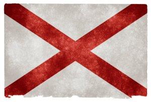 Alabama grunge flag