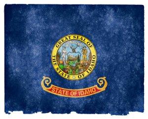 Idaho grunge flag