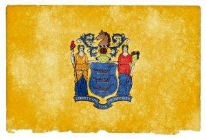 New Jersey grunge flag