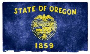 Oregon grunge flag