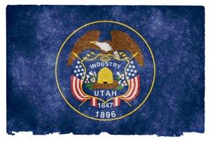 Utah grunge flag
