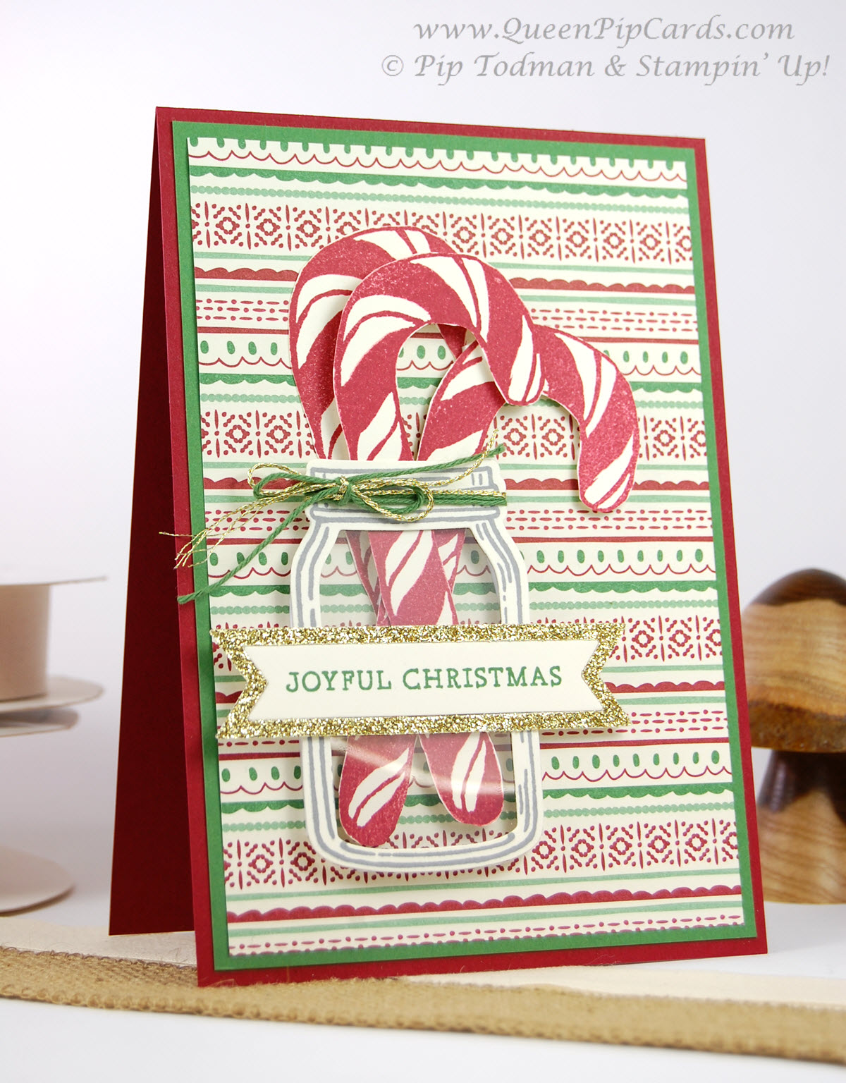 Stampin Creative Christmas Card Ideas Blog Hop Queen