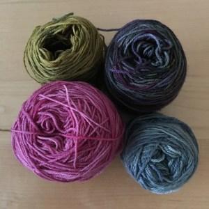 Patchwork-Tuch und meine Farbauswahl