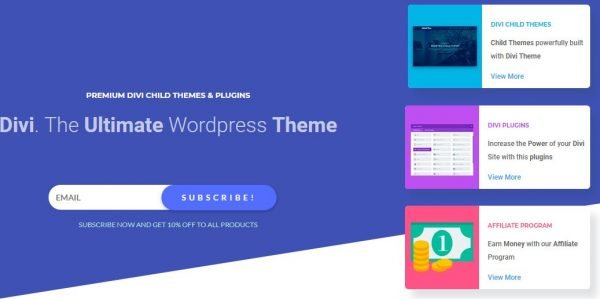 Divi Premium Child Themes and Plugins - queensdomania.com