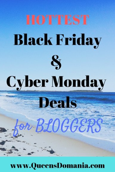 Black Friday & Cyber Monday sales for bloggers - queensdomania.com