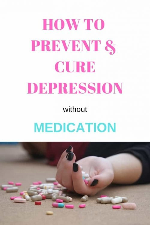 How to prevent and cure depression without medication pin