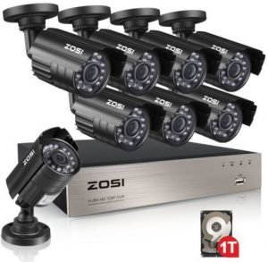 ZOSI Outdoor security system