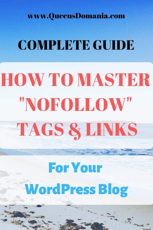 "complete guide to master ""nofollow"" tags and links"