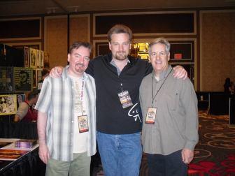 Brian O'Halloran of CLERKS, David Lee Madison, and David Naughton of AMERICAN WEREWOLF IN LONDON