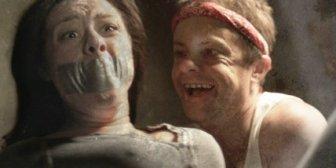"Stephen Geoffreys in full maniac mode in ""Mr. Hush"""