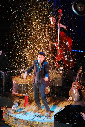 Tom Waits concert, July 2008, Prague.