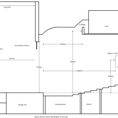 Proscenium Stage Diagram Box Marathon Electric Motor Wiring Technical Details Queen S Hall Arts Centre Side Elevation