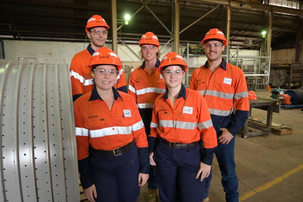 Wilmar Sugar apprentices.